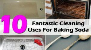 10 Fantastische Reinigungsmittel für Backpulver