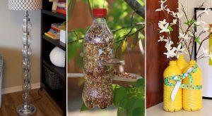 25 Möglichkeiten, Plastikflaschen in niedlichen Haus und Garten Zubehör umzuverwenden