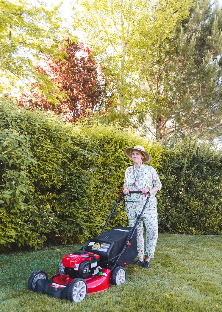 Regenbogen-Rasen-Umarbeitung