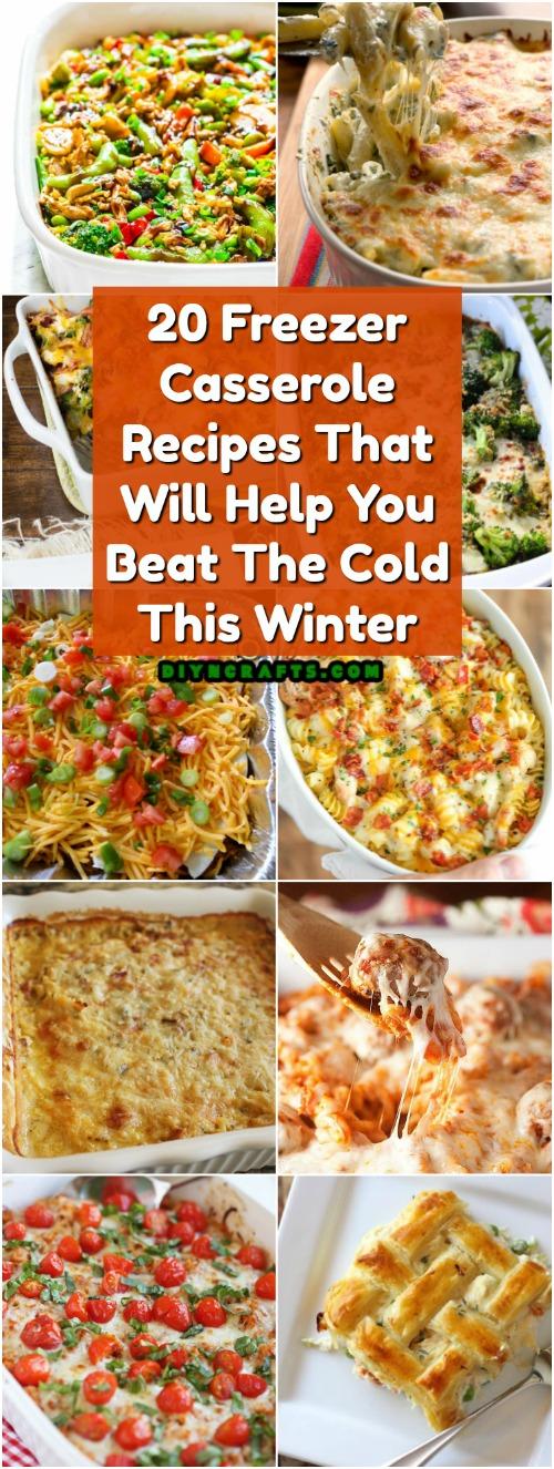 20 Freezer Casserole Rezepte, die Ihnen helfen, die Kälte in diesem Winter zu schlagen