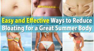 Einfache und effektive Möglichkeiten, Blähungen für einen großen Sommerkörper zu reduzieren