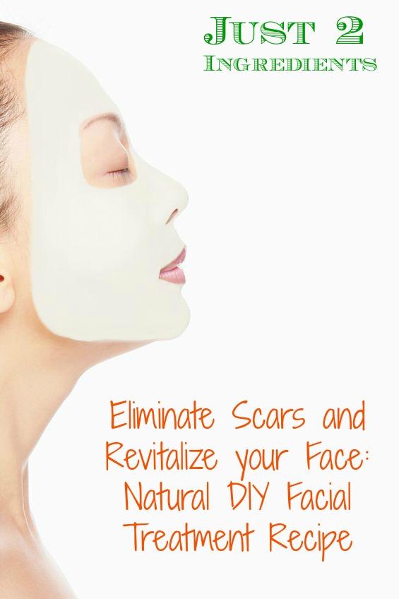 Beseitigen Sie Narben und revitalisieren Sie Ihr Gesicht: Natural DIY Gesichtsbehandlung Rezept
