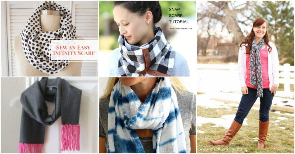 20 einfache DIY Schals, die Sie stilvoll und warm in diesem Winter halten