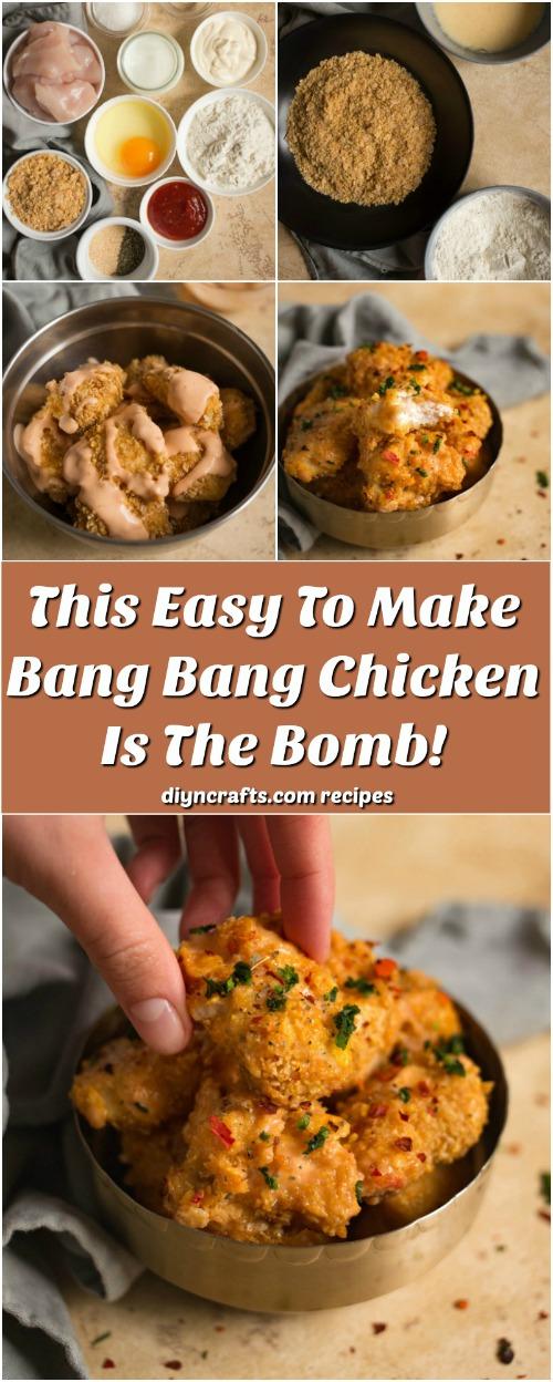 Dieses einfache Bang Bang Huhn ist die Bombe!