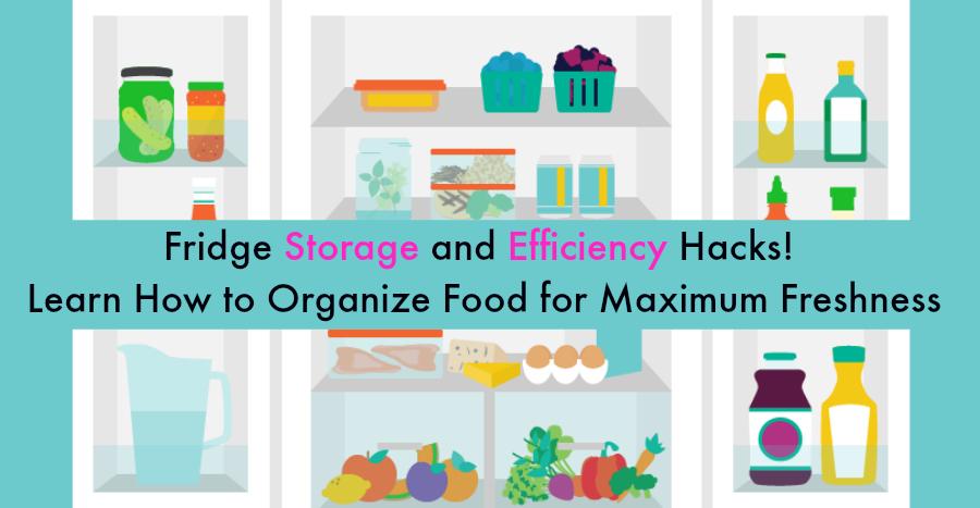 Kühlschrank Lagerung und Effizienz Hacks! Lernen Sie, wie man Lebensmittel für maximale Frische organisiert