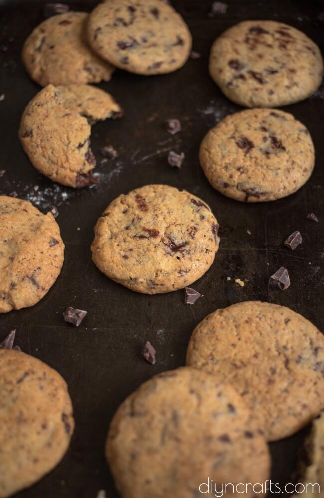 Schokoladenkekse - schnell und einfach, dieses Rezept ist ein All-Time Favorite