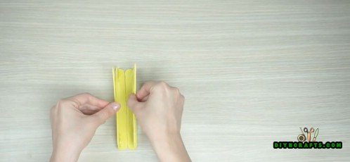 Wie man nette DIY Serviettenhalter aus Eis am Stiel macht