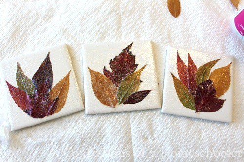 15 fabelhafte Herbst Blatt Handwerk für Kinder