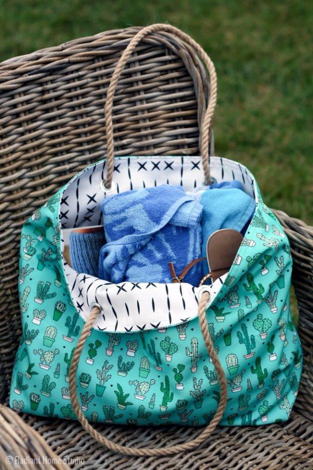 35 DIY Taschen, die Sie mit Stolz tragen können