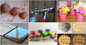 20 brillante Möglichkeiten, diese Schulmaterialien in diesem Sommer wiederzuverwenden