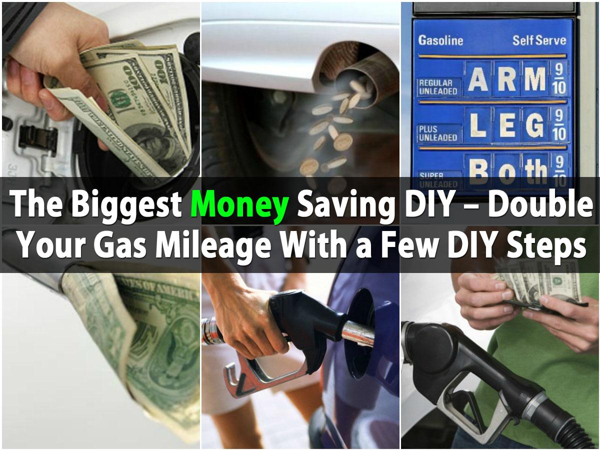 Das größte Geld sparen DIY - verdoppeln Sie Ihre Gas-Laufleistung mit ein paar DIY-Schritten