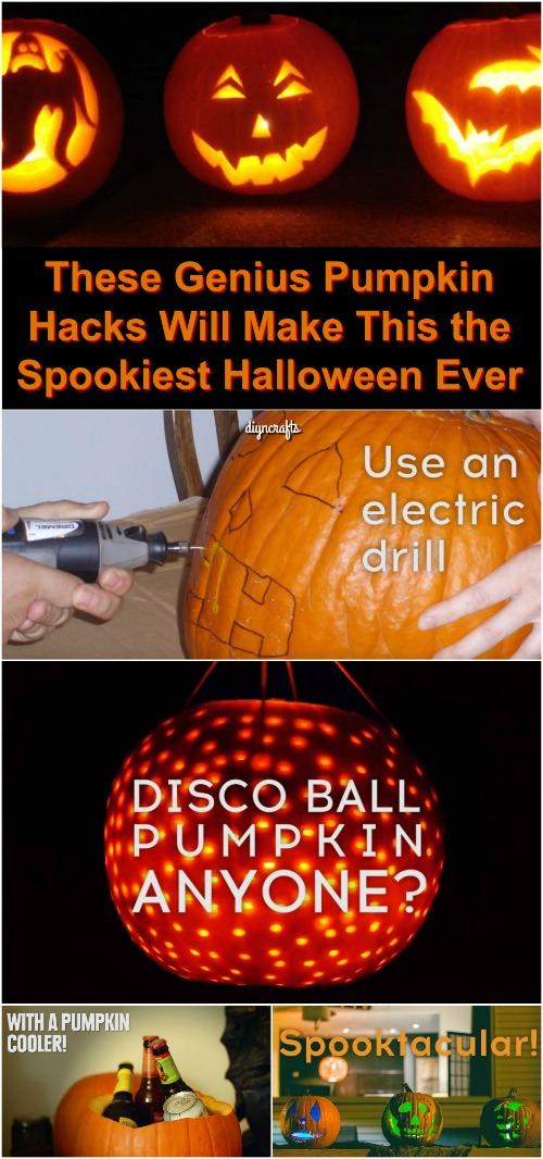 Diese Genius Pumpkin Hacks machen dies zum gruseligsten Halloween aller Zeiten