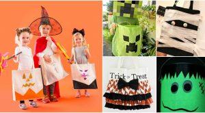 30 einfache und billige DIY Süßes oder Saures Taschen, die Halloween Spaß und genügsam machen